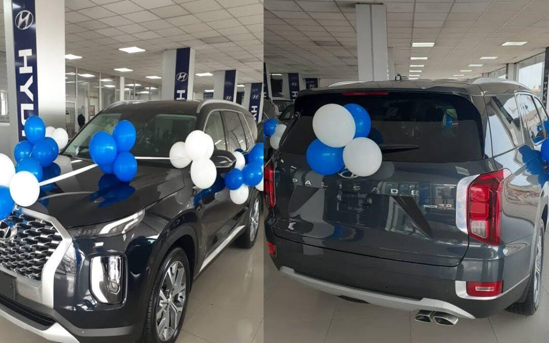 Hyundai unveils new Palisade